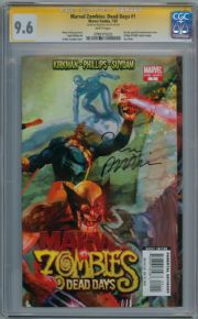 Marvel Zombies Dead Days #1 CGC 9.6 Signature Series Signed Sean Phillips Marvel comic book